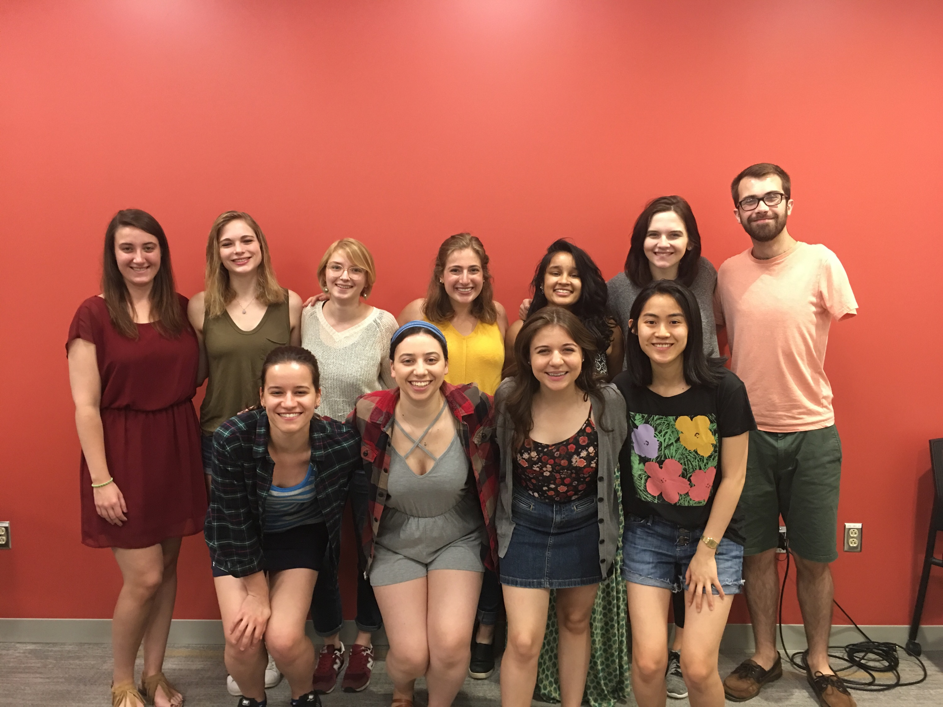 2018 Graduating Writing and Speaking Fellows